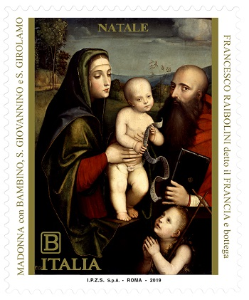 Italian Christmas Stamp for Italy